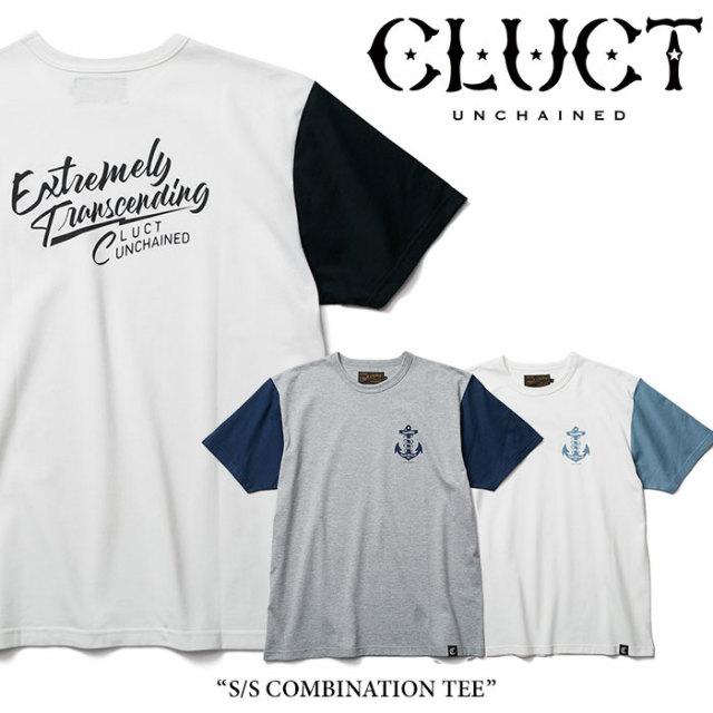 CLUCT(クラクト) S/S COMBINATION TEE 【2018SUMMER先行予約】 【キャンセル不可】 【#02735】