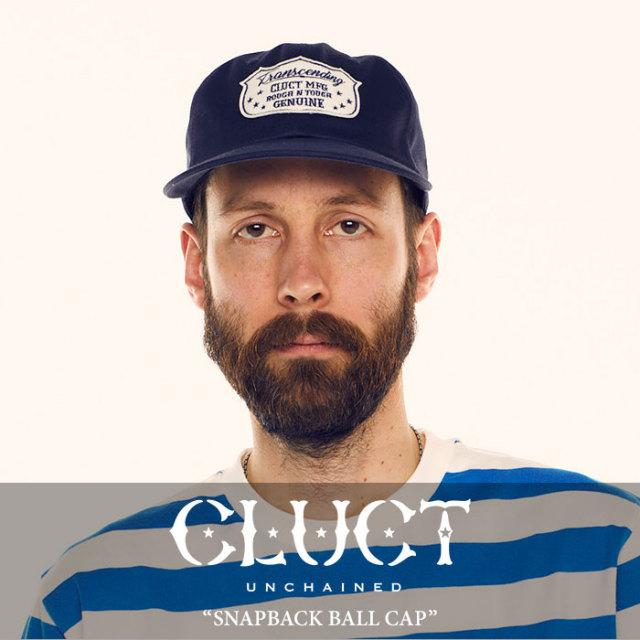 CLUCT(クラクト) SNAPBACK BALL CAP 【2018SUMMER新作】 【即発送可能】 【#02769】