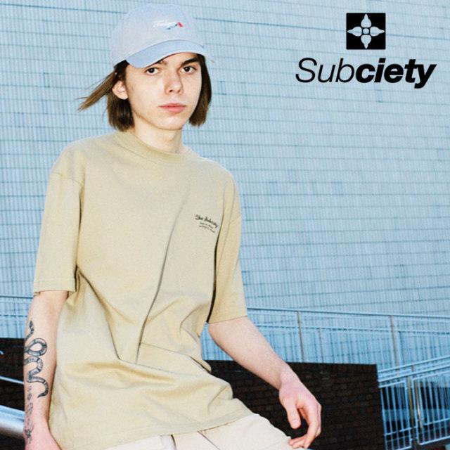 SUBCIETY(サブサエティ) MARIA S/S 【Tシャツ 半袖】【103-40548】【2020SUMMER新作】