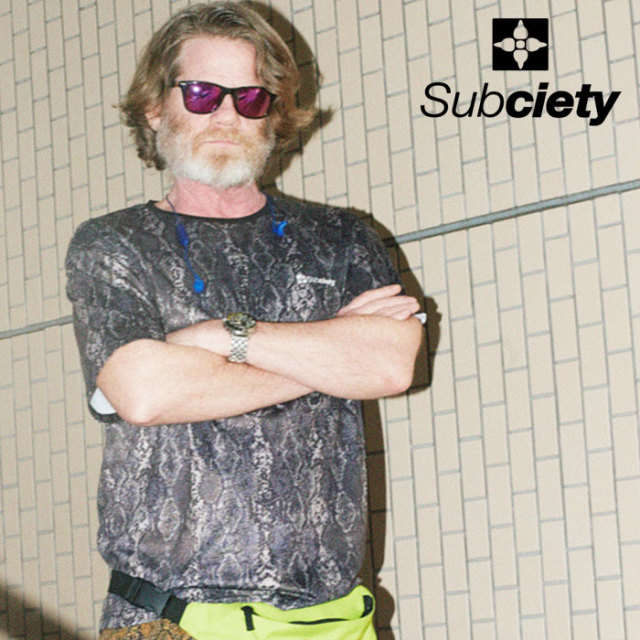 SUBCIETY(サブサエティ) PYTHON S/S 【Tシャツ 半袖】【103-40549】【2020SUMMER先行予約】【キャンセル不可】