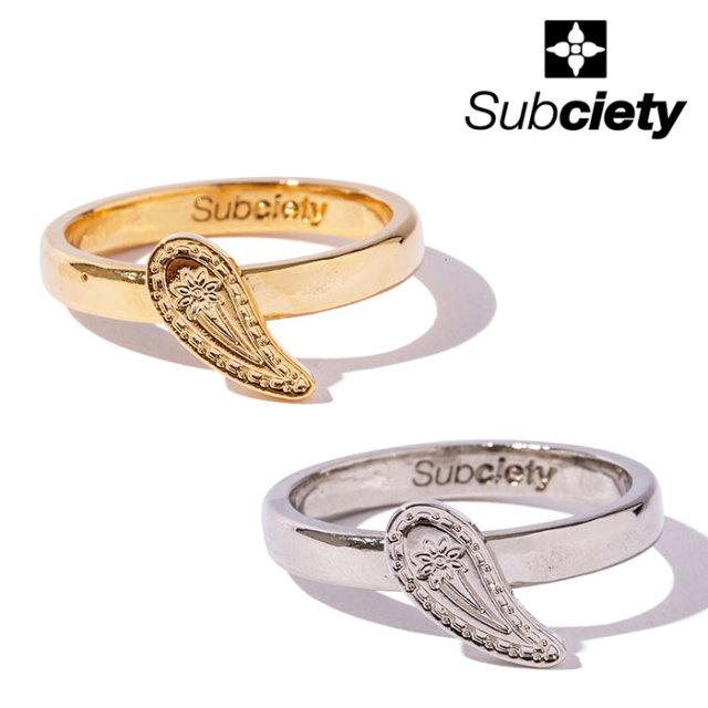 SUBCIETY(サブサエティ) PAISLEY RING 【リング】【103-90566】【2020SUMMER先行予約】【キャンセル不可】