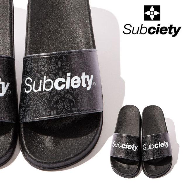 SUBCIETY(サブサエティ) SHOWER SANDALS 【サンダル】【103-97535】【2020SUMMER先行予約】【キャンセル不可】