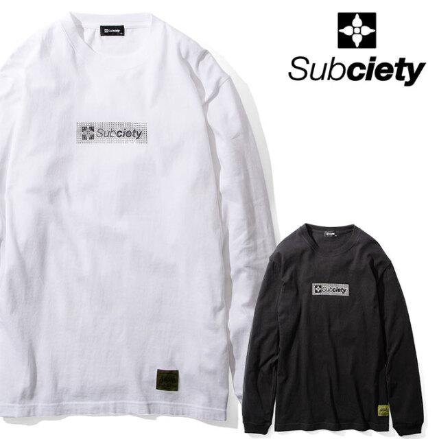 SUBCIETY(サブサエティ) STONE THE BASE L/S 【Tシャツ 長袖】【104-44600】【2020AUTUMN&WINTER先行予約】【キャンセル不可】