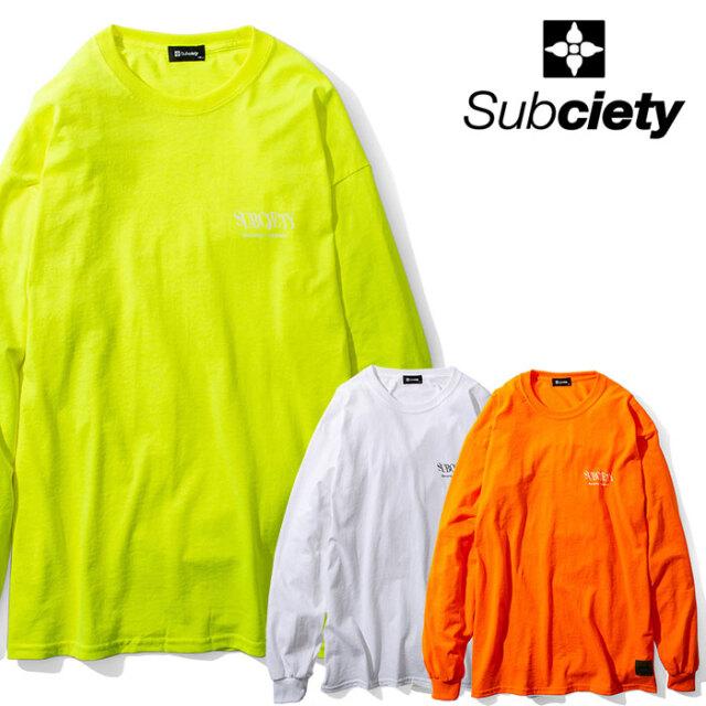 SUBCIETY(サブサエティ) ANTI-ROBOT L/S 【Tシャツ 長袖】【104-44603】【2020AUTUMN&WINTER先行予約】【キャンセル不可】