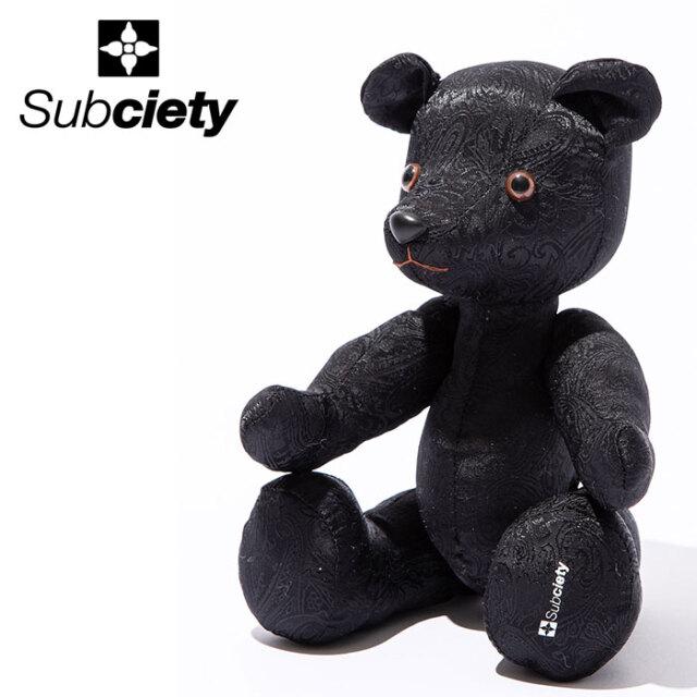 SUBCIETY(サブサエティ) TEDDY BEAR 【テディベア】【104-87620】【2020AUTUMN&WINTER先行予約】【キャンセル不可】