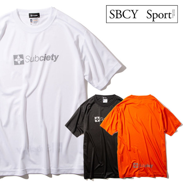 SUBCIETY(サブサエティ) REFLECTOR THE BASE S/S 【Tシャツ 半袖】【113-44038】【SBCY SPORT】【2020SUMMER先行予約】【キャンセ