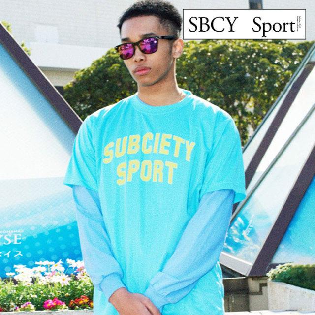 SUBCIETY(サブサエティ) TITLE S/S 【Tシャツ 半袖】【113-44039】【SBCY SPORT】【2020SUMMER先行予約】【キャンセル不可】