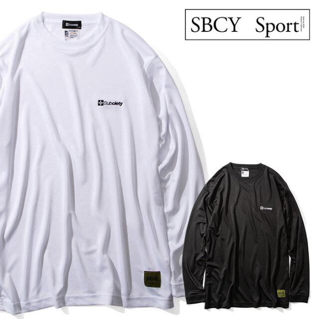 SUBCIETY SPORTS(サブサエティスポーツ) DRY TEE L/S-THE BASE- 【ロングスリーブTシャツ】【114-44042】【2020AUTUMN&WINTER先行
