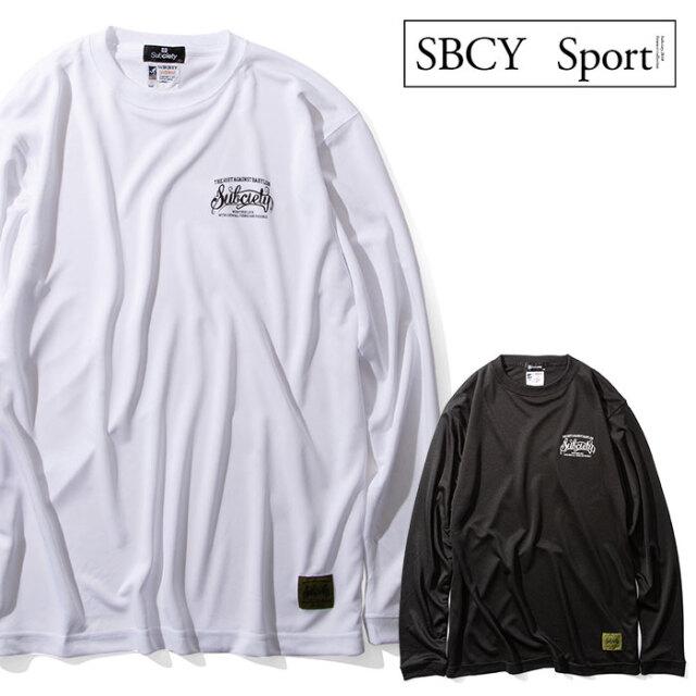 SUBCIETY SPORTS(サブサエティスポーツ) DRY TEE L/S-BABYLON- 【ロングスリーブTシャツ】【114-44043】【2020AUTUMN&WINTER先行予