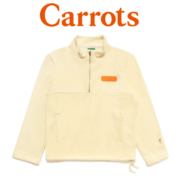"CARROTS(キャロッツ) SPORT REVERSE FLEECE JACKET 【""Carrots"" -by Anwar Carrots-】【2019FALL新作】 【送料無料】【アウター"