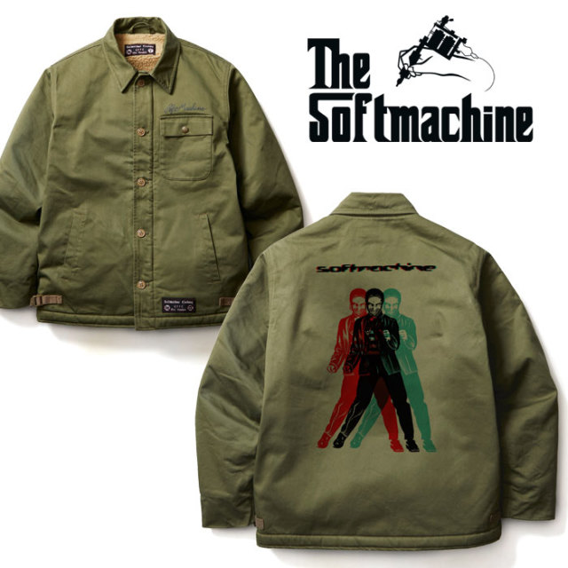 SOFTMACHINE(ソフトマシーン) DIMENSION JK(A-2 TYPE JACKET) 【2019AUTUMN/WINTER先行予約】【キャンセル不可】 【送料無料】【