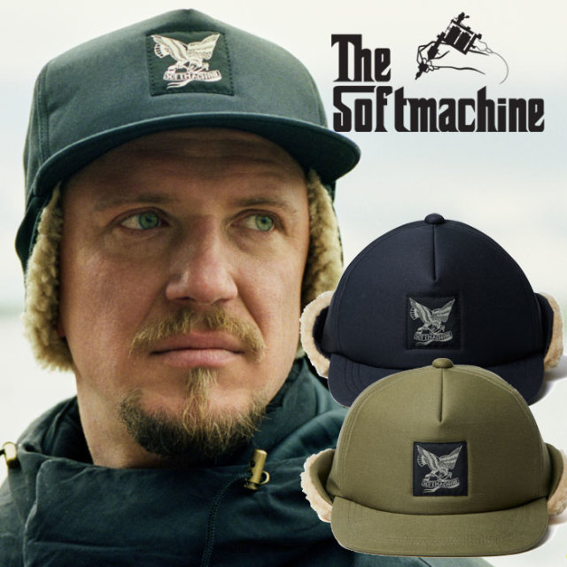 【SALE30%OFF】SOFTMACHINE(ソフトマシーン) FLIGATE CAP(BOA CAP) 【ボアキャップ】【帽子 防寒】【セール】【2019AUTUMN/WINTER