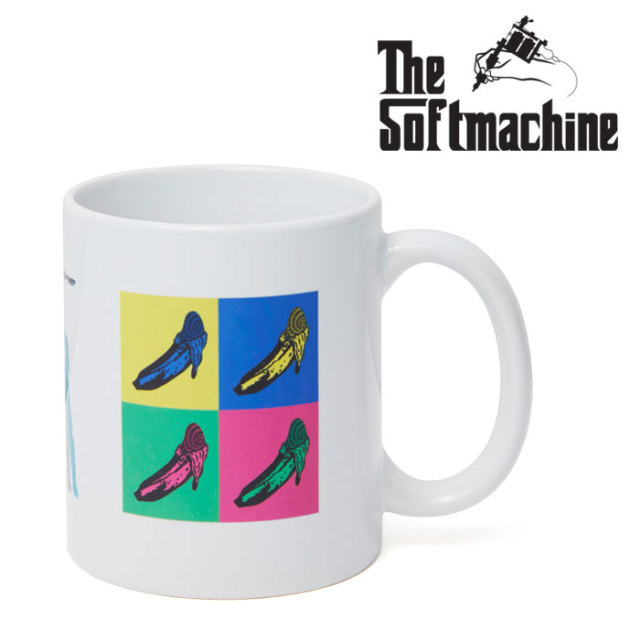 SOFTMACHINE(ソフトマシーン) GALLERY MUG 【2019AUTUMN/WINTER新作】【マグ】
