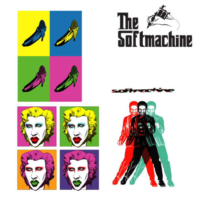 SOFTMACHINE(ソフトマシーン) GALLERY STICKER SET 【2019AUTUMN/WINTER新作】【ステッカー】