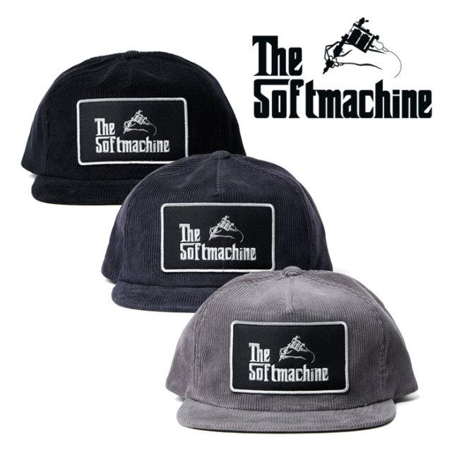 SOFTMACHINE(ソフトマシーン) GOD CORD CAP(CORDUROY CAP) 【コーデュロイキャップ】【帽子】 【2019AUTUMN/WINTER新作】