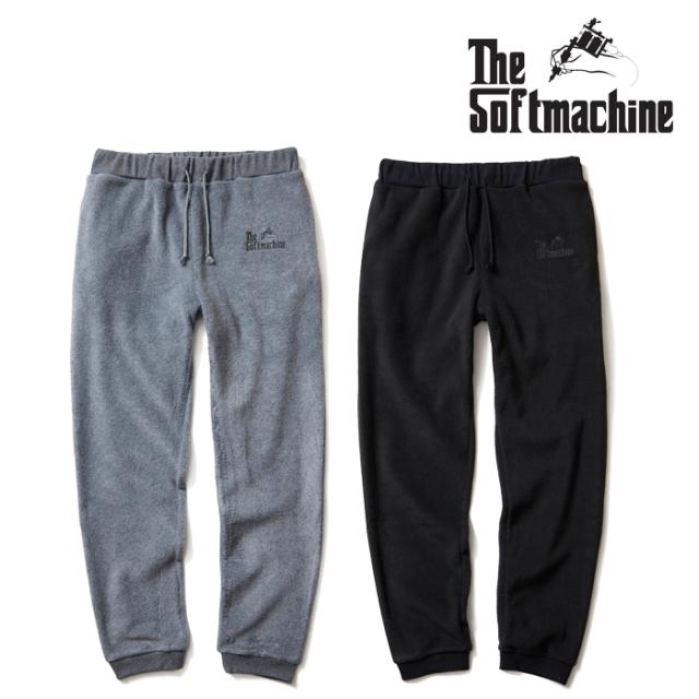 【SALE30%OFF】 SOFTMACHINE(ソフトマシーン) GOD FLEECE PANTS(FLEECE PANTS) 【フリース パンツ】【秋冬新作】【セール】【2019