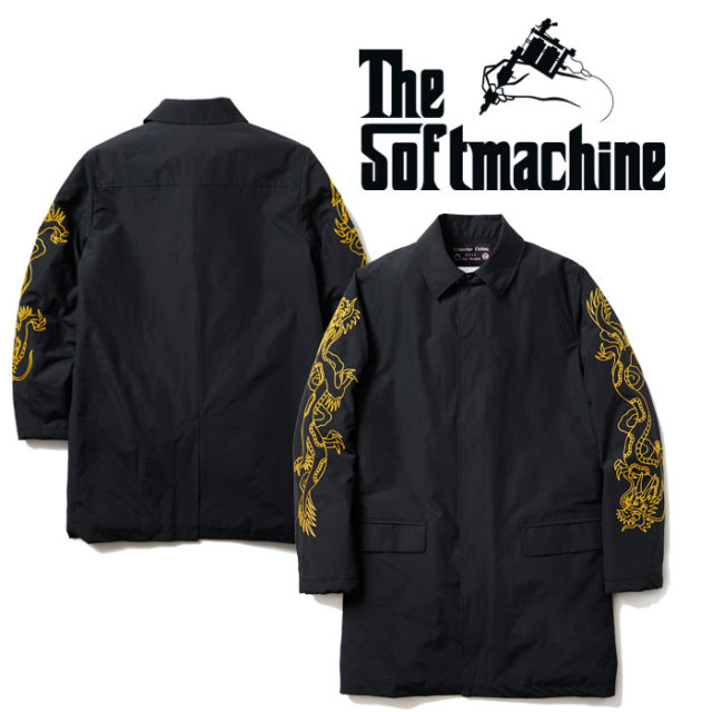 SOFTMACHINE(ソフトマシーン) RISE & FALL COAT(STAND FALL COLLAR COAT) 【2019AUTUMN/WINTER先行予約】【キャンセル不可】 【送