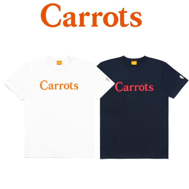 "【SALE50%OFF】 CARROTS(キャロッツ) CARROTS WORDMARK TEE 【Tシャツ 半袖】【シンプル 人気 おしゃれ】【""Carrots"" -by Anwar C"