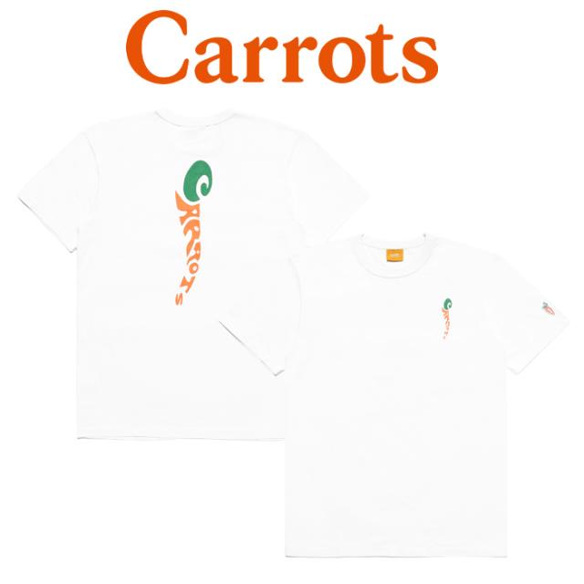 """【SALE30%OFF】 CARROTS(キャロッツ) GROOVY WORDMARK TEE 【セール】【Tシャツ 半袖】【シンプル 人気 おしゃれ】【""""Carrots"""" -b"""
