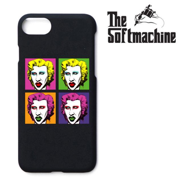 【SALE30%OFF】 SOFTMACHINE(ソフトマシーン) SWEET DREAMS iPhone CASE(7&8) 【iPhoneケース】【ブラック 黒 おしゃれ】【秋冬新