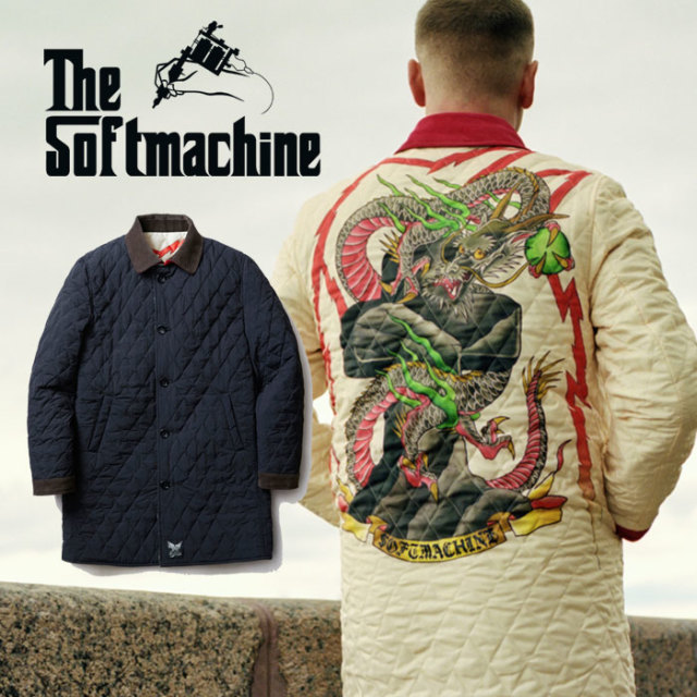 SOFTMACHINE(ソフトマシーン) THUNDERBOLT COAT(REVERSIBLE QUILTING COAT) 【2019AUTUMN/WINTER先行予約】【キャンセル不可】 【