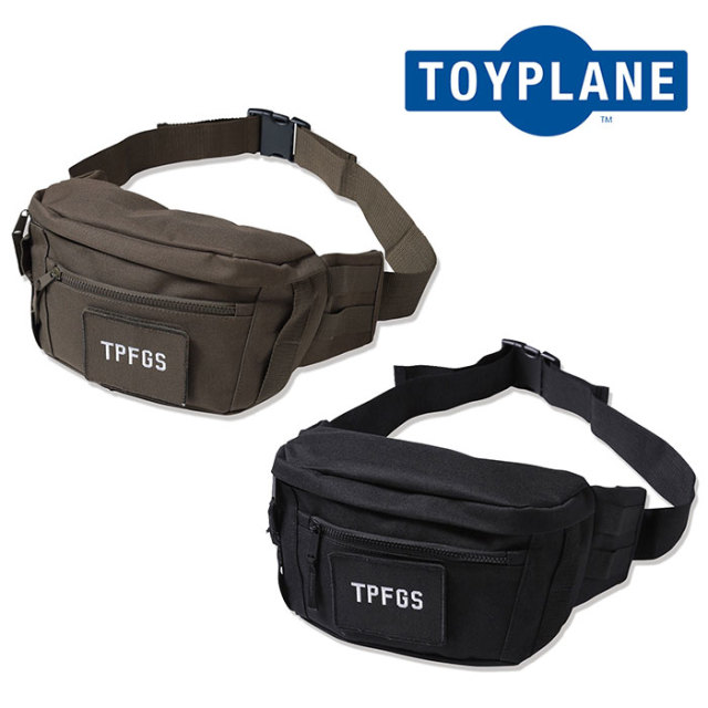 【SALE30%OFF】 TOYPLANE(トイプレーン) TP FORCE BAILOUT BAG 【2019 2nd新作】 【TP19-NAC02】【ウェストバッグ】