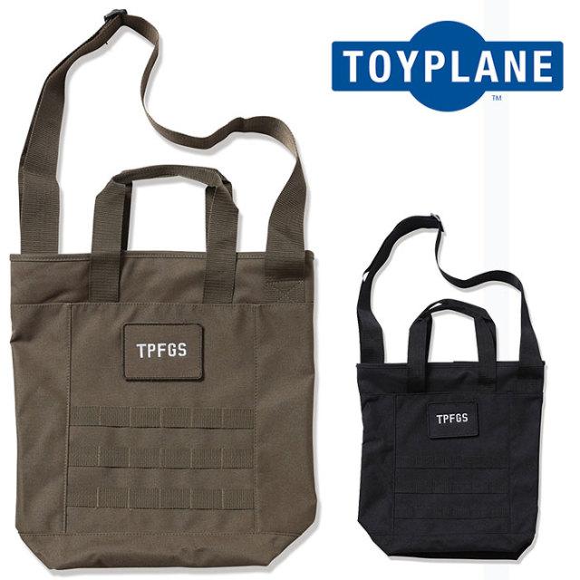 TOYPLANE(トイプレーン) TP FORCE 2WAY TOTE BAG 【2019 2nd先行予約】【キャンセル不可】 【TP19-NAC03】【トートバッグ】