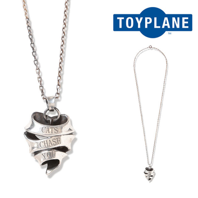 TOYPLANE(トイプレーン) HEART NECKLACE (LARGE) 【2019 2nd先行予約】【キャンセル不可】 【TP19-NAC08】【ネックレス】
