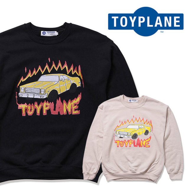 TOYPLANE(トイプレーン) PACMAN CREW NECK SWEAT 【2019 2nd先行予約】【キャンセル不可】 【TP19-NSW02】【スウェット】