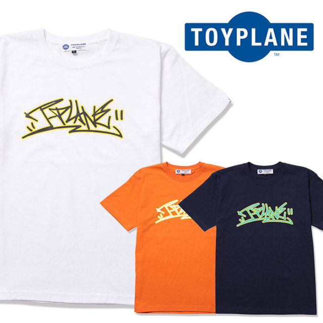 TOYPLANE(トイプレーン) TAGGING LOGO TEE 【2019 2nd先行予約】【キャンセル不可】 【TP19-NTE04】【Tシャツ】