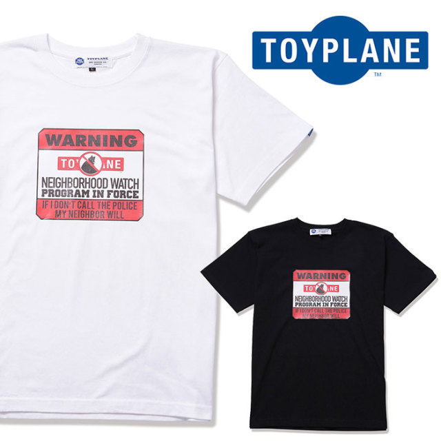 TOYPLANE(トイプレーン) HOOD WATCH  TEE 【2019 2nd新作】 【TP19-NTE06】【Tシャツ】