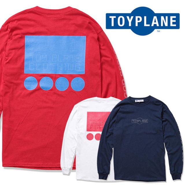TOYPLANE(トイプレーン) L/S NEON SIGN TEE 【2019 2nd先行予約】【キャンセル不可】 【TP19-NTE10】【Tシャツ】