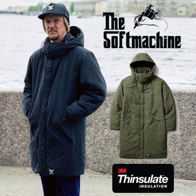 SOFTMACHINE(ソフトマシーン) UNWIND COAT(THINSULATE COAT) 【2019AUTUMN/WINTER先行予約】【キャンセル不可】 【送料無料】【コ