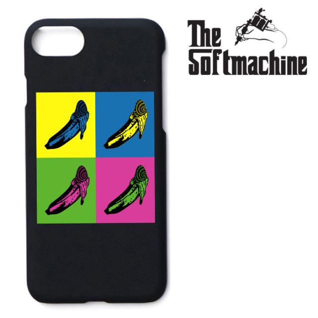 【SALE30%OFF】 SOFTMACHINE(ソフトマシーン) VELVETS  iPhone CASE(7&8) 【iPhoneケース】【ブラック 黒 おしゃれ】【秋冬新作】