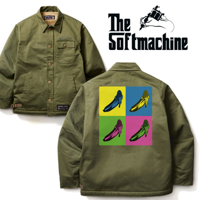 SOFTMACHINE(ソフトマシーン) VELVETS JK(A-2 TYPE JACKET) 【2019AUTUMN/WINTER先行予約】【キャンセル不可】 【送料無料】【ミ