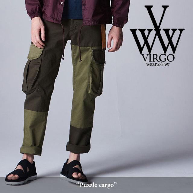 VIRGO(ヴァルゴ) Puzzle cargo 【2018SPRING/SUMMER先行予約】 【送料無料】【キャンセル不可】 【VG-PT-293】