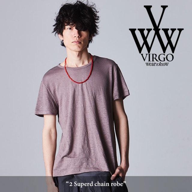 VIRGO(ヴァルゴ) 2 Superb chain robe 【2018SPRING/SUMMER先行予約】 【キャンセル不可】 【VG-CUT-359】
