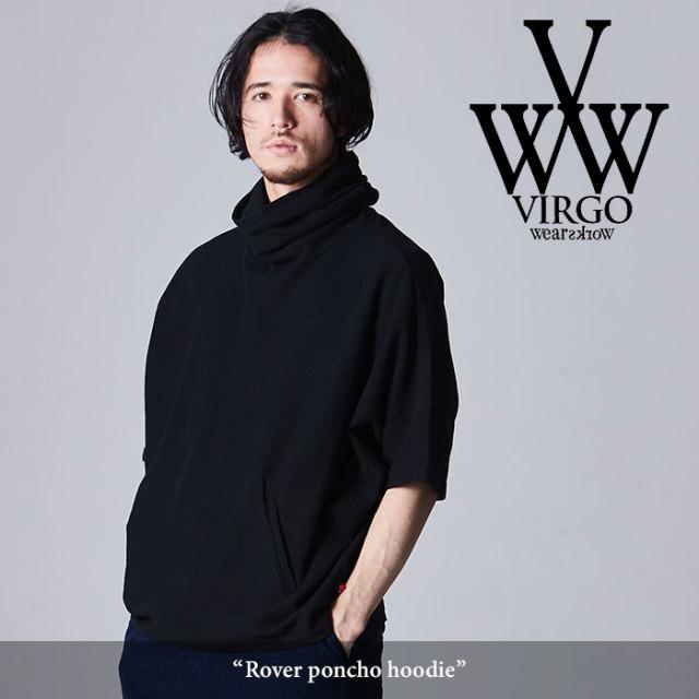 VIRGO(ヴァルゴ) Rover poncho hoodie 【2018SPRING/SUMMER先行予約】 【送料無料】【キャンセル不可】 【VG-CUT-360】