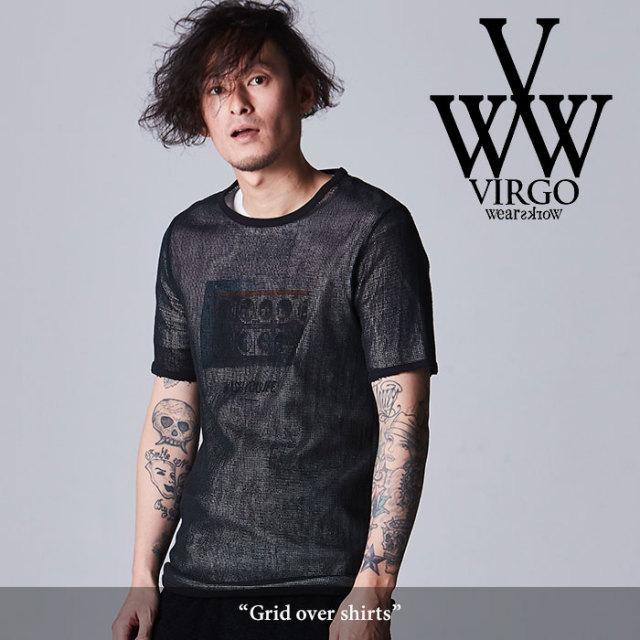 VIRGO(ヴァルゴ) Grid over shirts 【2018SPRING/SUMMER先行予約】 【キャンセル不可】 【VG-CUT-362】