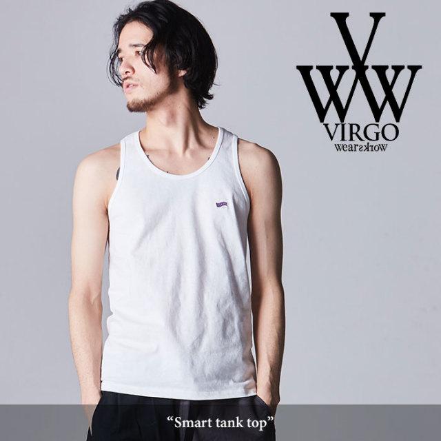 VIRGO(ヴァルゴ) Smart tank top 【2018SPRING/SUMMER先行予約】 【キャンセル不可】 【VG-CUT-368】