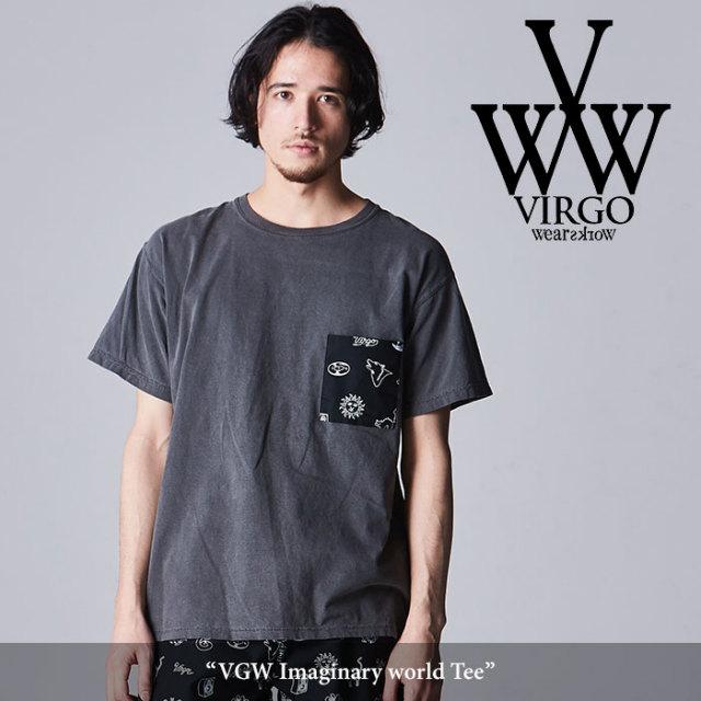 VIRGO(ヴァルゴ) VGW Imaginary world Tee 【2018SPRING/SUMMER先行予約】 【キャンセル不可】 【VG-CUT-370】