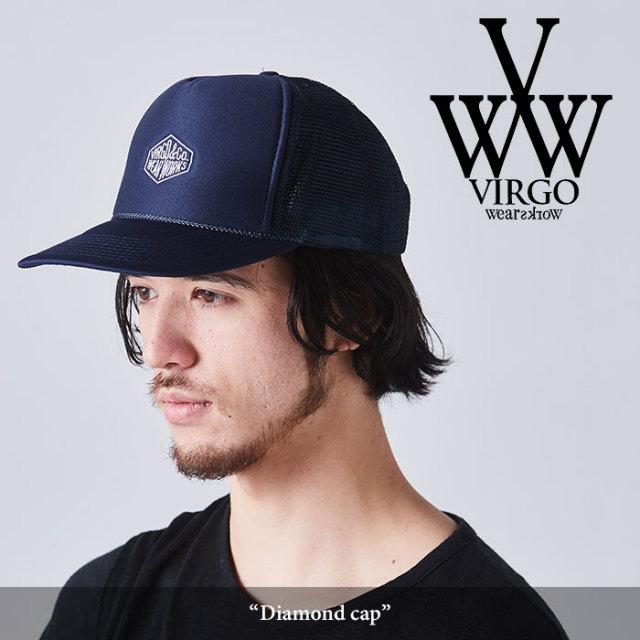 VIRGO(ヴァルゴ) Diamond cap 【2018SPRING/SUMMER先行予約】 【キャンセル不可】 【VG-GD-545】