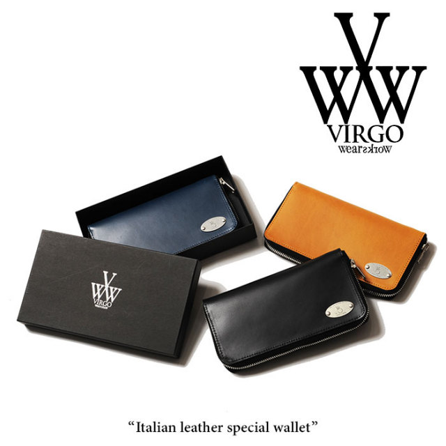VIRGO(ヴァルゴ) Italian leather special wallet 【2018SPRING/SUMMER新作】【VG-GD-549】