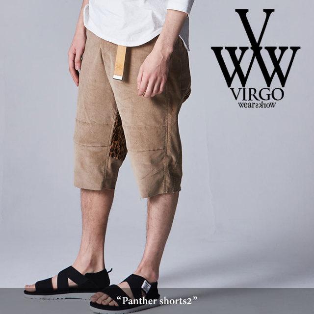 VIRGO(ヴァルゴ) Panther shorts2 【2018SPRING/SUMMER先行予約】 【送料無料】【キャンセル不可】 【VG-PT-290】