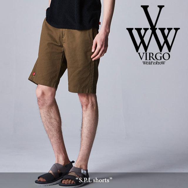 VIRGO(ヴァルゴ) S.P.L shorts 【2018SPRING/SUMMER先行予約】 【送料無料】【キャンセル不可】 【VG-PT-292】