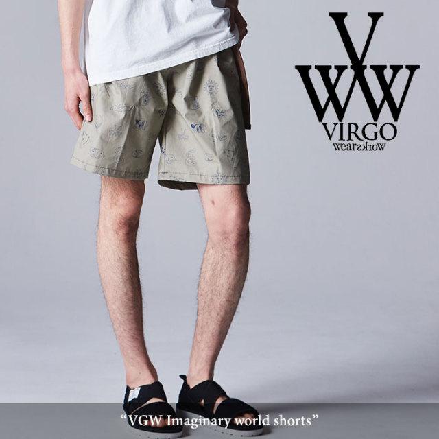 VIRGO(ヴァルゴ) VGW Imaginary world shorts 【2018SPRING/SUMMER新作】【VG-PT-298】