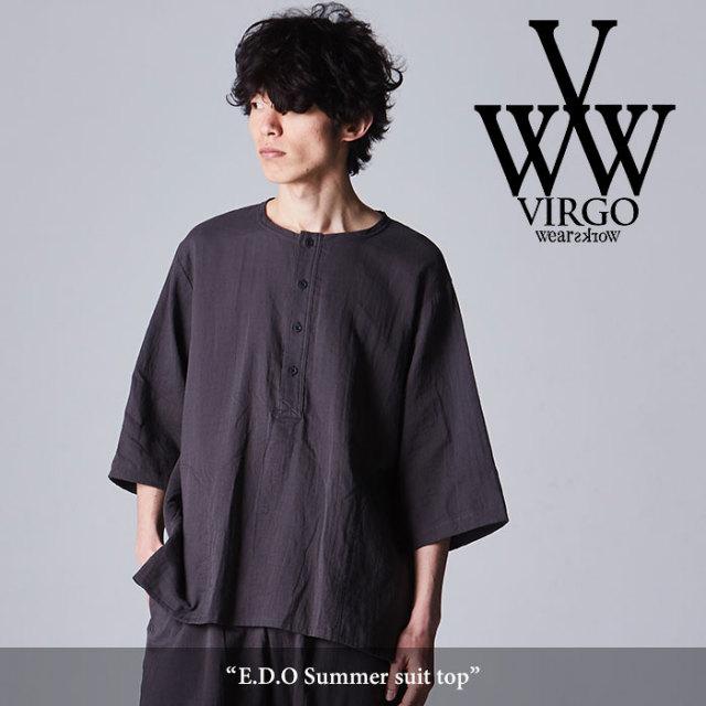 VIRGO(ヴァルゴ) E.D.O Summer suit top 【2018SPRING/SUMMER新作】【VG-SH-186】
