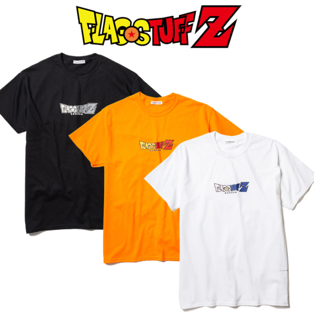 "F-LAGSTUF-F(フラグスタフ) ""F-LAGSTUF-F Z""Tee 【ドラゴンボール】【DRAGON BALL】 【19AW-FS×DB-07】 【F-LAGSTUF-F】【FLAGST"