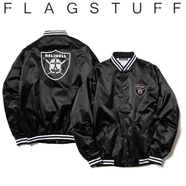 F-LAGSTUF-F(フラグスタフ) Team ST JKT 【送料無料】【19AW-DH-01】 【F-LAGSTUF-F】【FLAGSTUFF】【Delivery Hells】 【フラグ