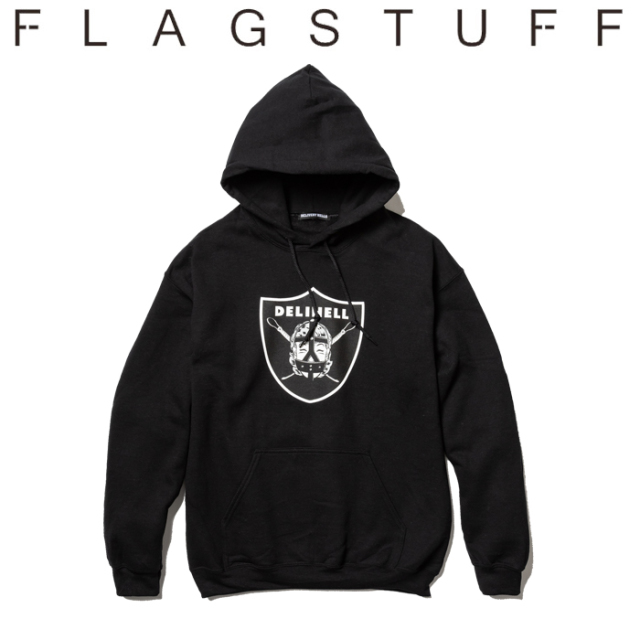 F-LAGSTUF-F(フラグスタフ) Team HOODIE 【送料無料】【19AW-DH-05】 【F-LAGSTUF-F】【FLAGSTUFF】【Delivery Hells】 【フラグ
